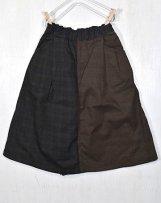 m6401321B_ch 7分丈スカートパンツ 140,150cm