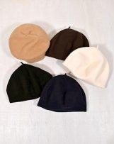Okp01 woollen roll up beret