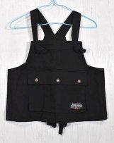 n220011_bk Stretch-chino Hunt Vest 110〜150cm