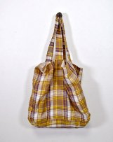 ic600919_b LINEN TURTAN CHECK BAG