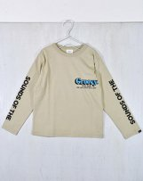 g1612404_16 テンジク GROOVY COLOR BASIC L/S TEE 150,160cm