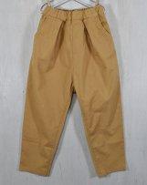 n2121104_be Strect-Gaba Tuck-Pants  140cm,150cm