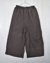 AL211416_69 SCARF PRINT GATHER PANTS L,XL