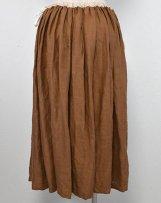 g251B_ca リネンギャザースカート