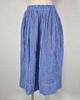 ST-091_bl*wh シャーリングスカート