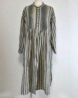 ic700318_c LINEN AZUMADAKI STRIPE DRESS