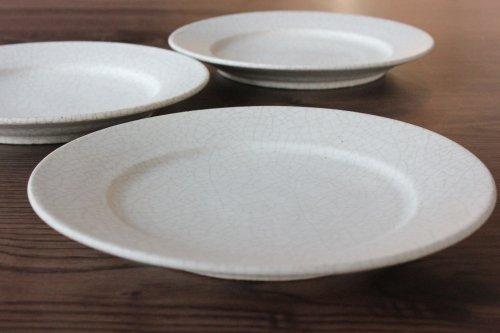 ■小林徹也:貫入リム皿6寸