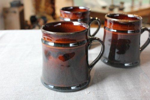 ■松原竜馬:飴釉マグカップ