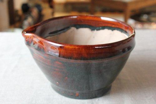 ■松原竜馬:飴釉すり鉢