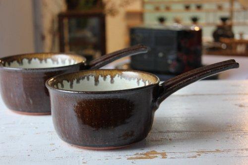 ■廣川温:片手鍋(深)