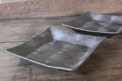 ■山本哲也:銀化輪紋角鉢