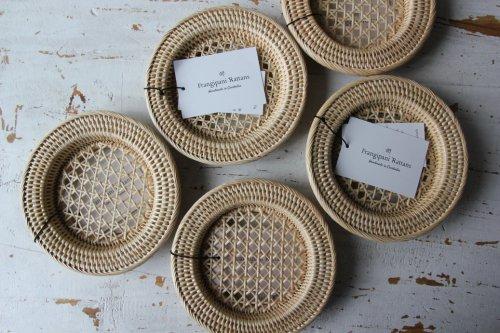 ■Frangipani Rattans:透かし編みコースター