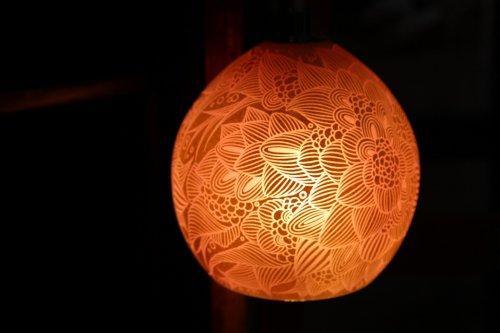 ■平田友美:Lamp ピンク