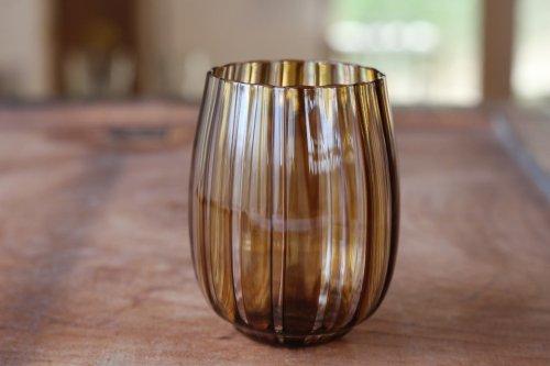 ■森康一朗:透間 台型グラスL  B
