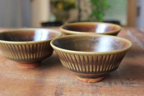 ■増渕篤宥:褐釉飯碗 B
