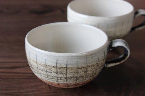 ■林英樹:かすりスープマグカップ