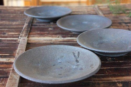 ■松村英治:やきしめ5寸皿