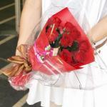 【プリザーブドフラワー】バラの花束