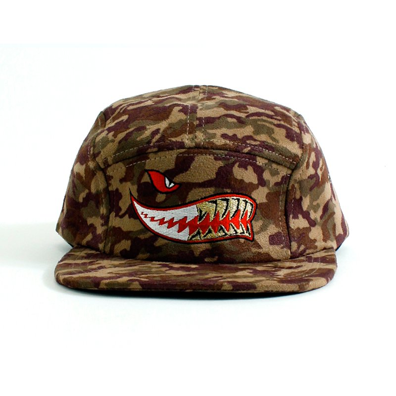 SHARK GRILLZ CAMO CAP [BROWN]