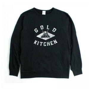 VINTAGE LOGO SWEAT [BLACK]