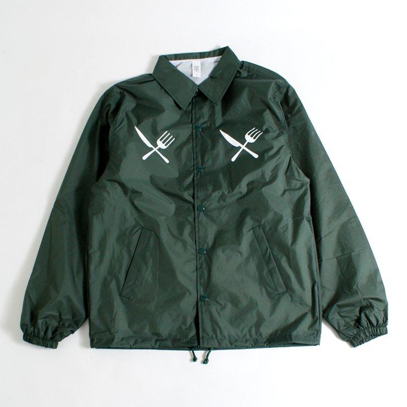 BASIC LOGO COACH JKT [GREEN]