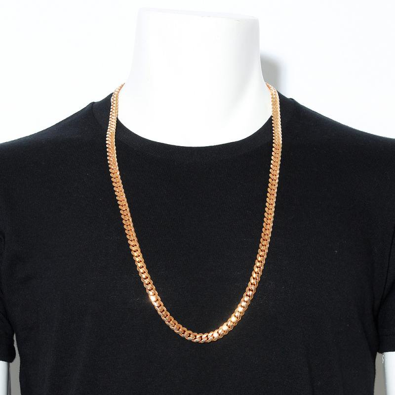 MIAMI CUBAN CHAIN 10K PG 82cm 【SOLID】