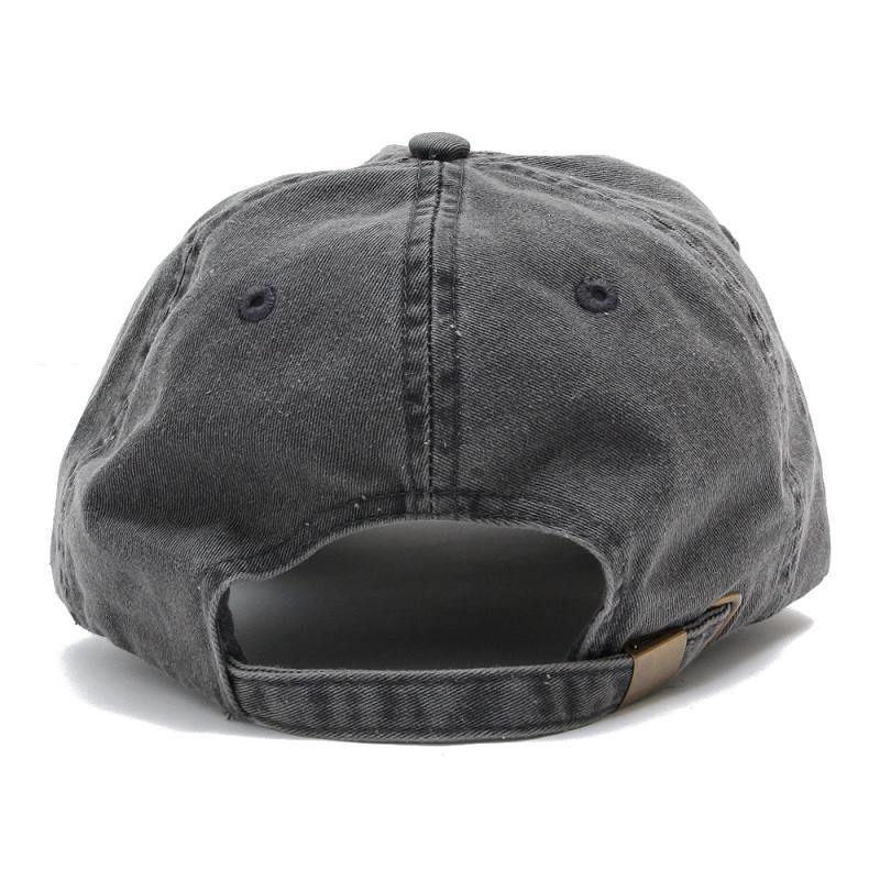 SCRIPT LOGO PIGMENT CAP [BLACK]