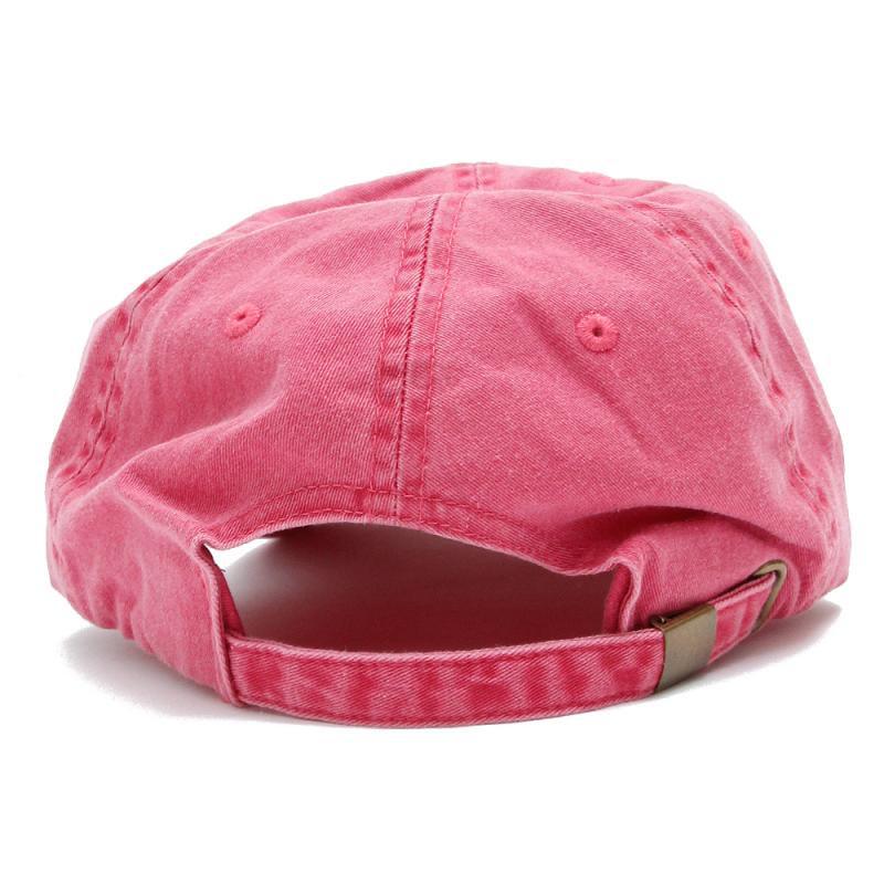 SCRIPT LOGO PIGMENT CAP [PINK]
