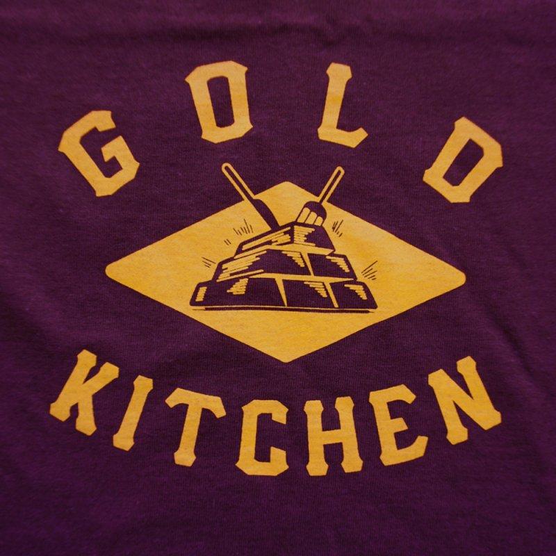 GOLD KITCHEN BASIC LOGO TEE