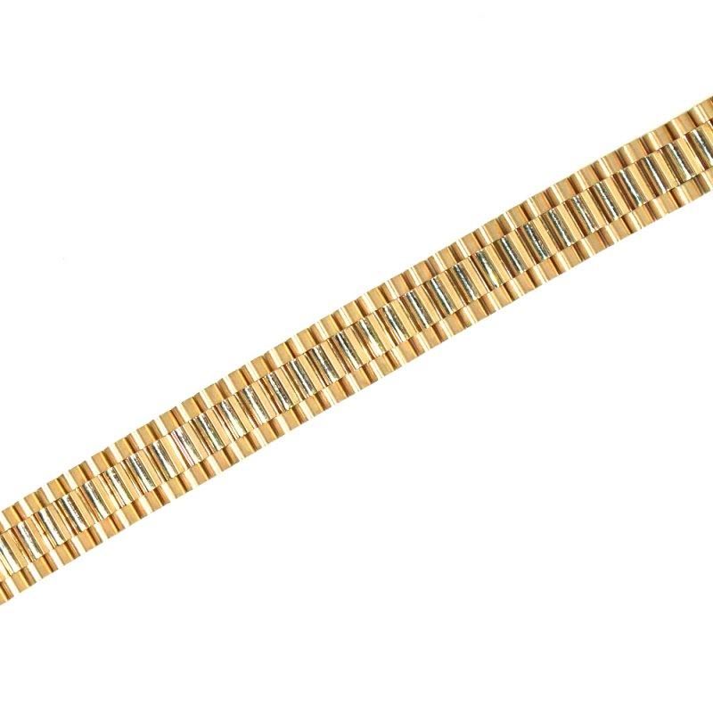 ROLEX BRACELET 14K YG 20.5cm