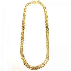 MIAMI CUBAN CHAIN 10K YG 70cm 【SOLID】