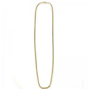 MIAMI CUBAN CHAIN 10K YG 67cm 【SOLID】