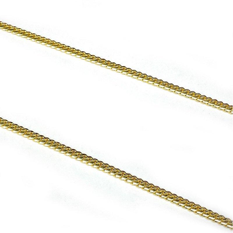 MIAMI CUBAN CHAIN 10K YG 3mm,50cm 【SOLID】