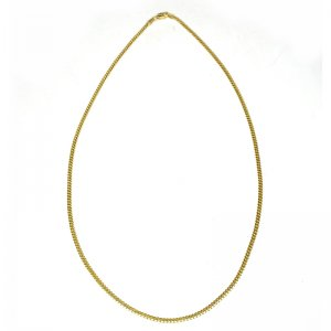 MIAMI CUBAN CHAIN 10K YG 2.5mm,50cm 【SOLID】