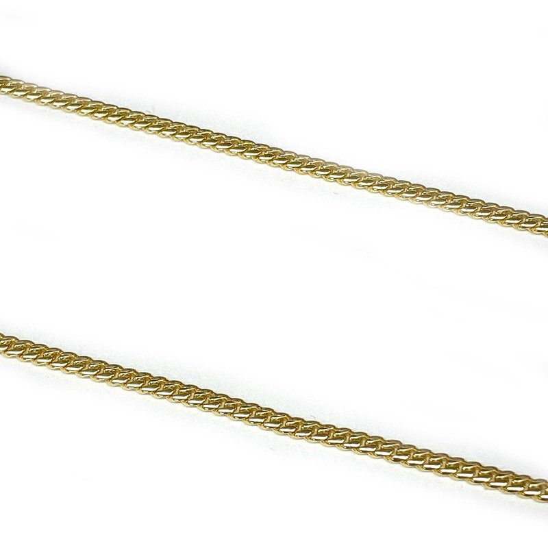 MIAMI CUBAN CHAIN 10K YG 2.5mm,60cm 【SOLID】