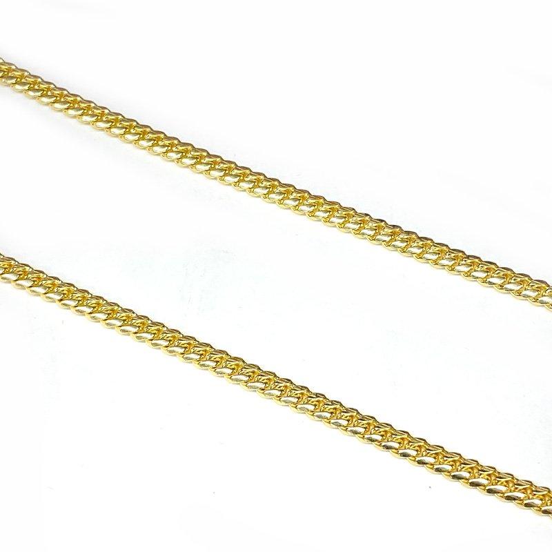 MIAMI CUBAN CHAIN 10K YG 4mm,50cm 【SOLID】