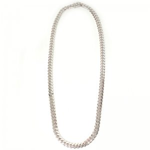 MIAMI CUBAN CHAIN 10K WG 8.5mm,60cm 【SOLID】