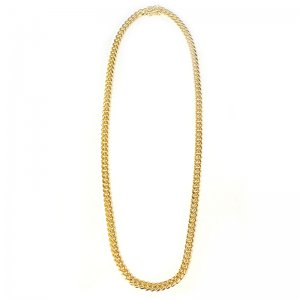 MIAMI CUBAN CHAIN 10K Yellow Gold 5.5mm  50cm/60cm  【SOLID】