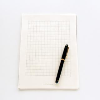 土佐和紙の原稿用紙