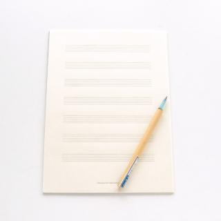 土佐和紙の五線譜