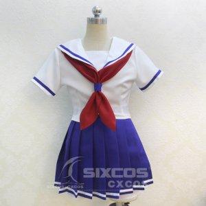 ハイスクール・フリート 岬明乃  横須賀女子海洋学校制服 コスプレ衣装 High School Fleet-Misakiake School uniform Cosplay Costume