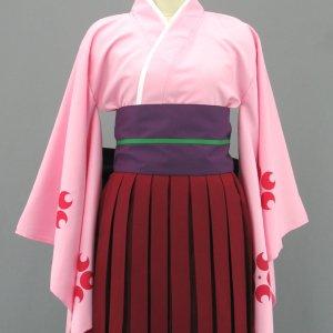 サクラ大戦 花組 真宮寺さくら 普段着 風 コスプレ衣装  Sakura Wars-Shinguji Sakura Cosplay Costume Flower Division