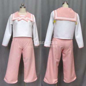 サクラ大戦 コクリコ 風 普段着 コスプレ衣装 Sakura Wars-Coquelicot Cosplay Costume Flower Division