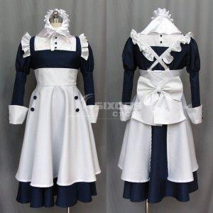 黒執事 メイリン 風 メイド戦闘服 コスプレ衣装 Black Butler Kuroshitsuji-Meyrin Cosplay Costume