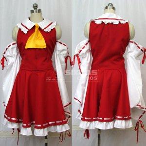 東方Project 博麗霊夢 風 コスプレ衣装 Touhou Project-Reimu Hakurei Cosplay Costume
