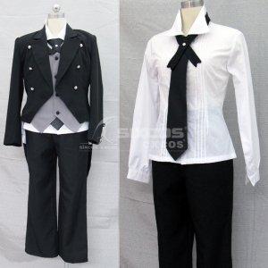 黒執事 セバスチャン・ミカエリス 風 コスプレ衣装 Black Butler Kuroshitsuji-Sebastian Michaelis Cosplay Costume