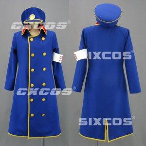 銀河鉄道999 車掌 風 コスプレ衣装 Galaxy Express 999-Conductor Cosplay Costume