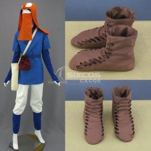 もののけ姫 アシタカ 風 コスプレ衣装 Princess Mononoke-Ashitaka Cosplay Costume