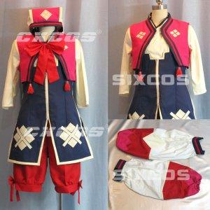 モンスターハンターポータブル3rd 撫子装備 コノハ 風 コスプレ衣装 Monster Hunter / MHF Cosplay Costume
