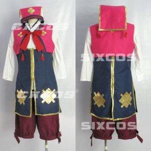 モンスターハンターポータブル3rd 撫子装備 コノハ 風 コスプレ衣装 B Monster Hunter / MHF Cosplay Costume